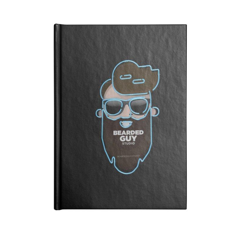 BeardedGuy Accessories Blank Journal Notebook by Beardedguy's Shop