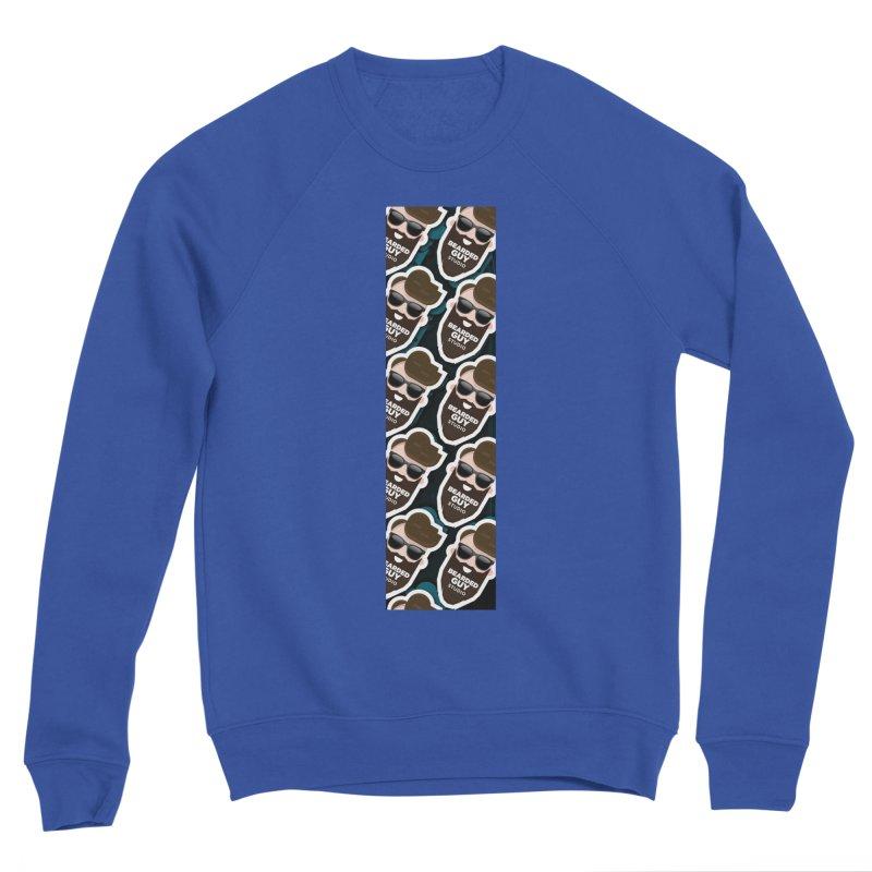 BeardedGuy Men's Sponge Fleece Sweatshirt by Beardedguy's Shop
