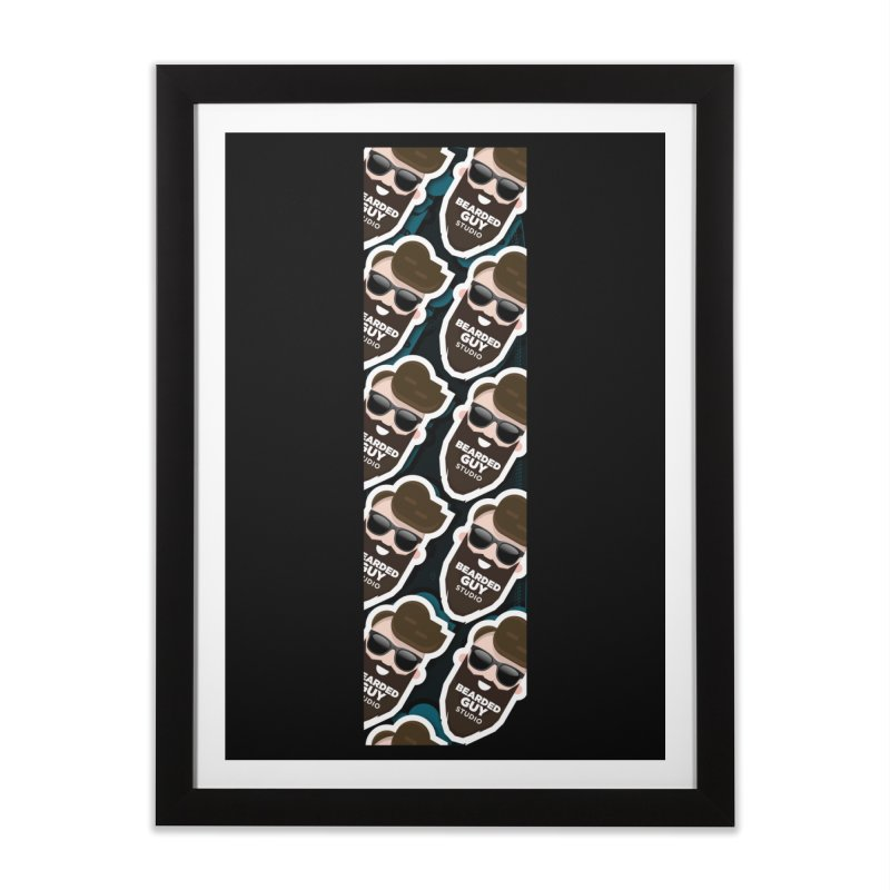 BeardedGuy Home Framed Fine Art Print by Beardedguy's Shop
