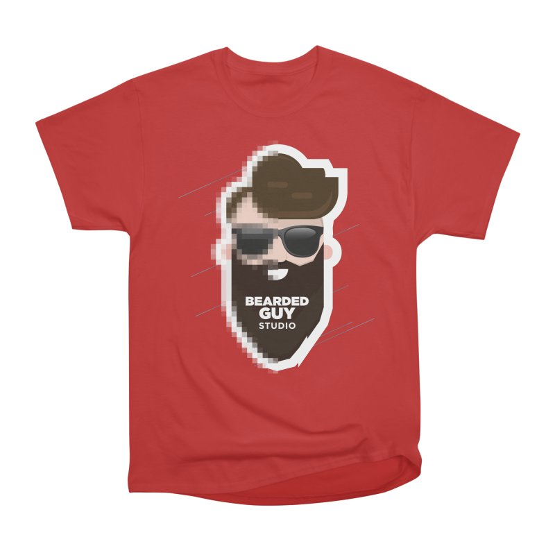 Blurrrry Guy Women's Heavyweight Unisex T-Shirt by Beardedguy's Shop