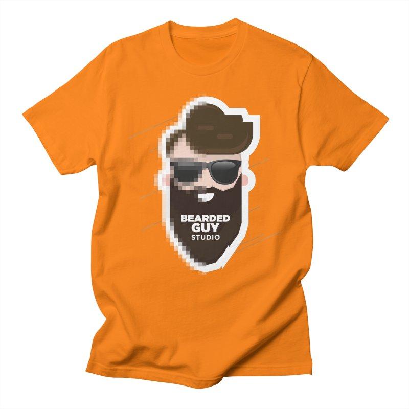 Blurrrry Guy Women's Regular Unisex T-Shirt by Beardedguy's Shop