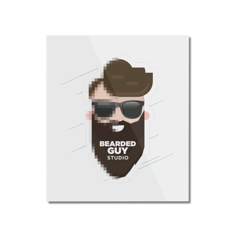 Blurrrry Guy Home Mounted Acrylic Print by Beardedguy's Shop
