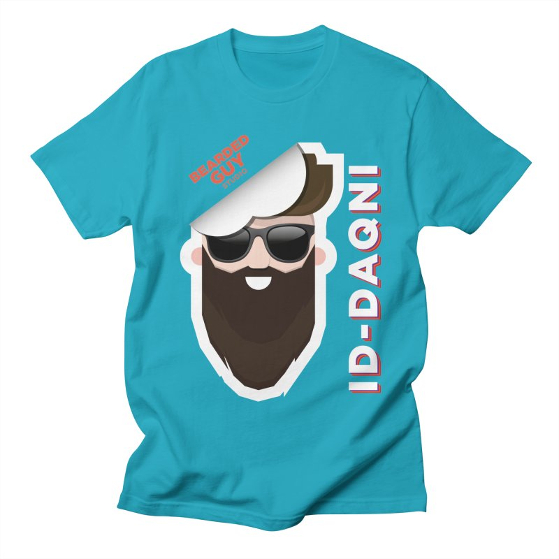 ID-DAQNI Women's Regular Unisex T-Shirt by Beardedguy's Shop