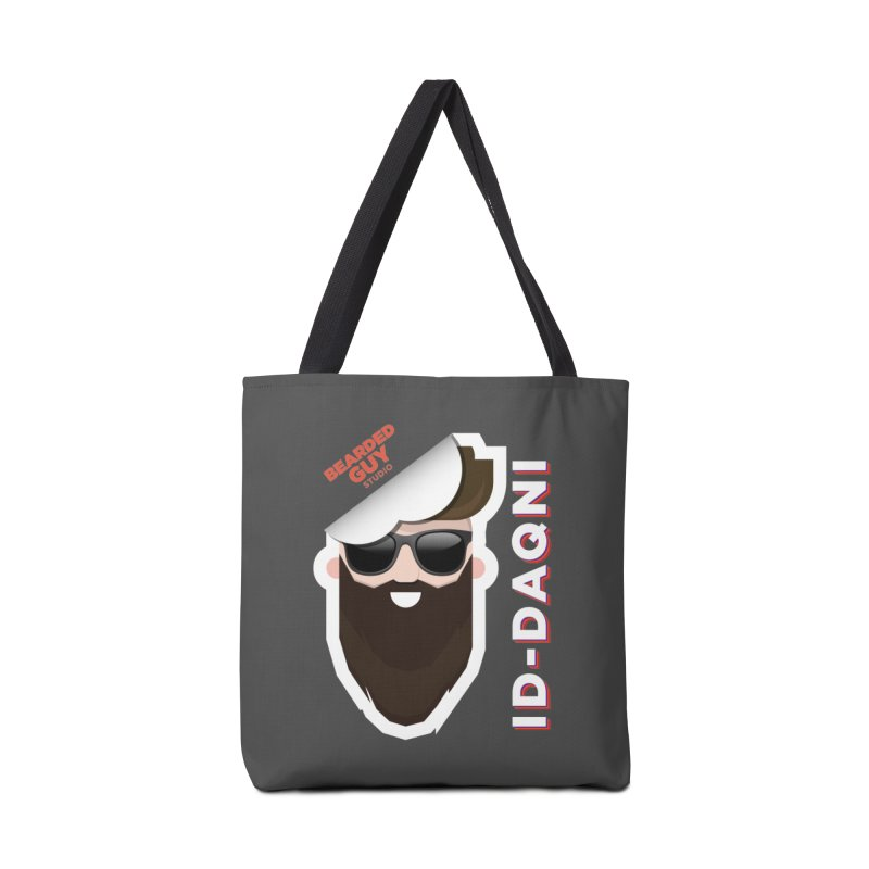 ID-DAQNI Accessories Tote Bag Bag by Beardedguy's Shop
