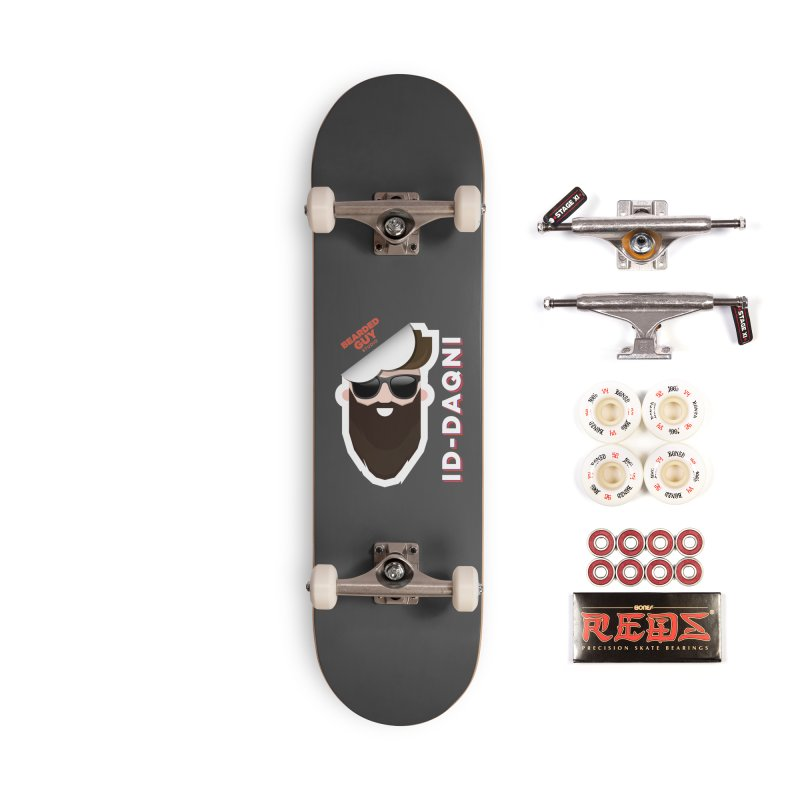 ID-DAQNI Accessories Complete - Pro Skateboard by Beardedguy's Shop