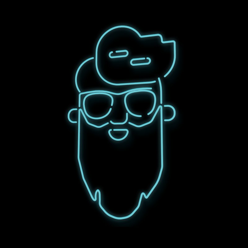 Neon BeardedGuy by Beardedguy's Shop