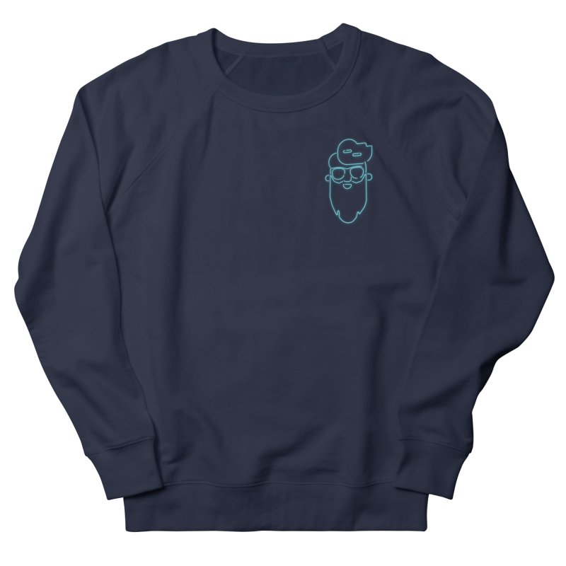 Neon BeardedGuy Men's French Terry Sweatshirt by Beardedguy's Shop