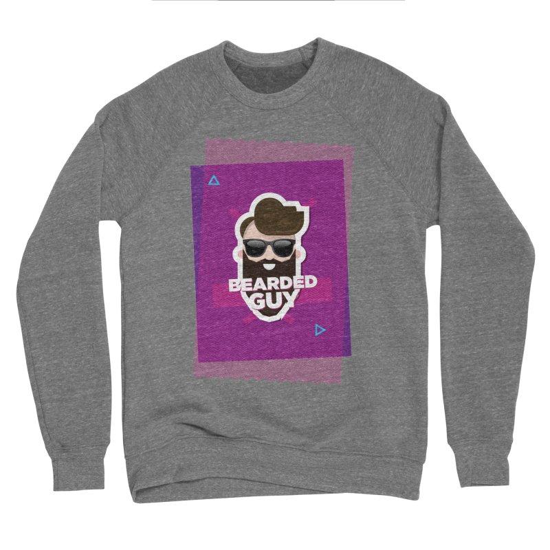 ZIG-ZAG SUMMER VIBE Men's Sponge Fleece Sweatshirt by Beardedguy's Shop