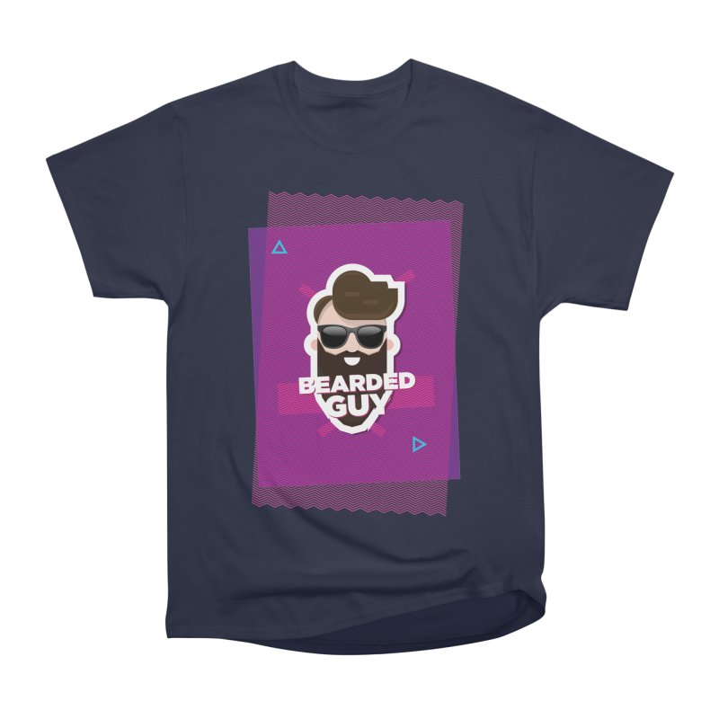 ZIG-ZAG SUMMER VIBE Women's Heavyweight Unisex T-Shirt by Beardedguy's Shop