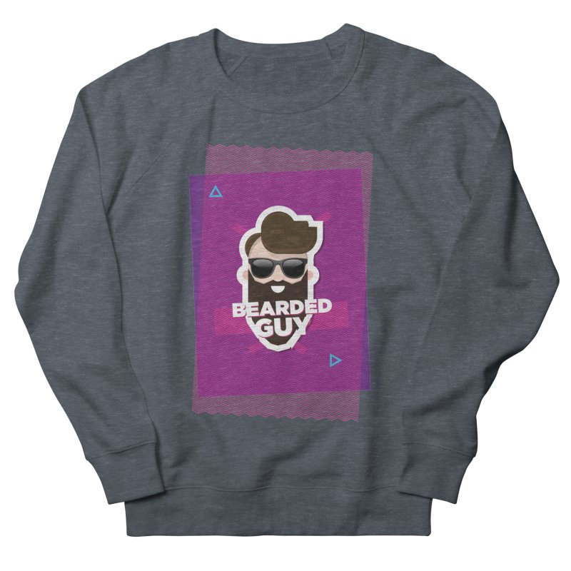 ZIG-ZAG SUMMER VIBE Men's French Terry Sweatshirt by Beardedguy's Shop
