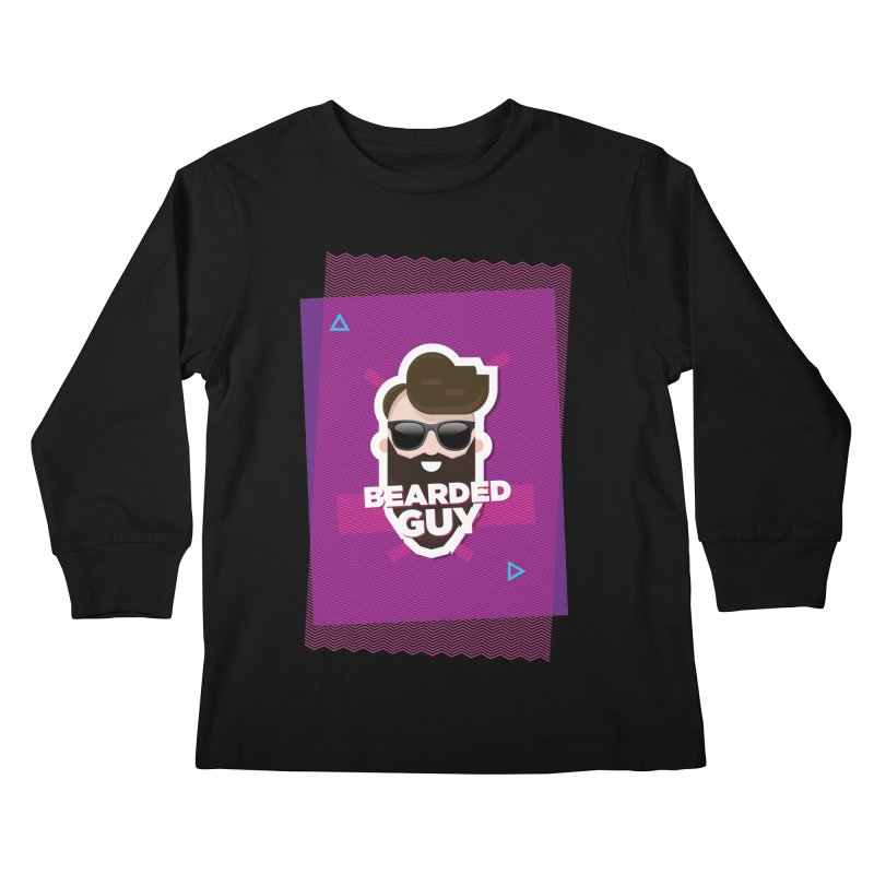 ZIG-ZAG SUMMER VIBE Kids Longsleeve T-Shirt by Beardedguy's Shop