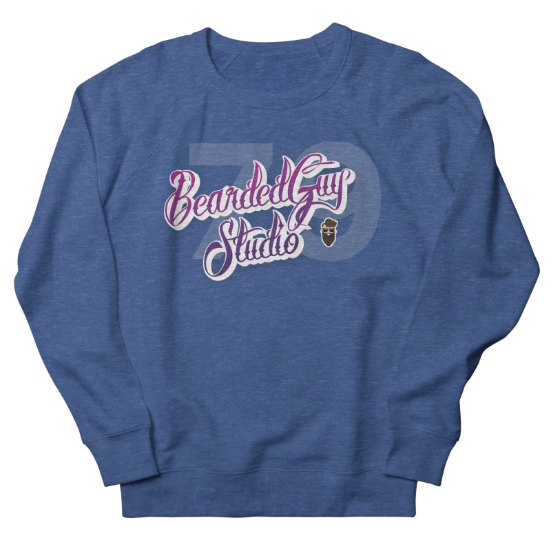 Bearded79 Men's French Terry Sweatshirt by Beardedguy's Shop