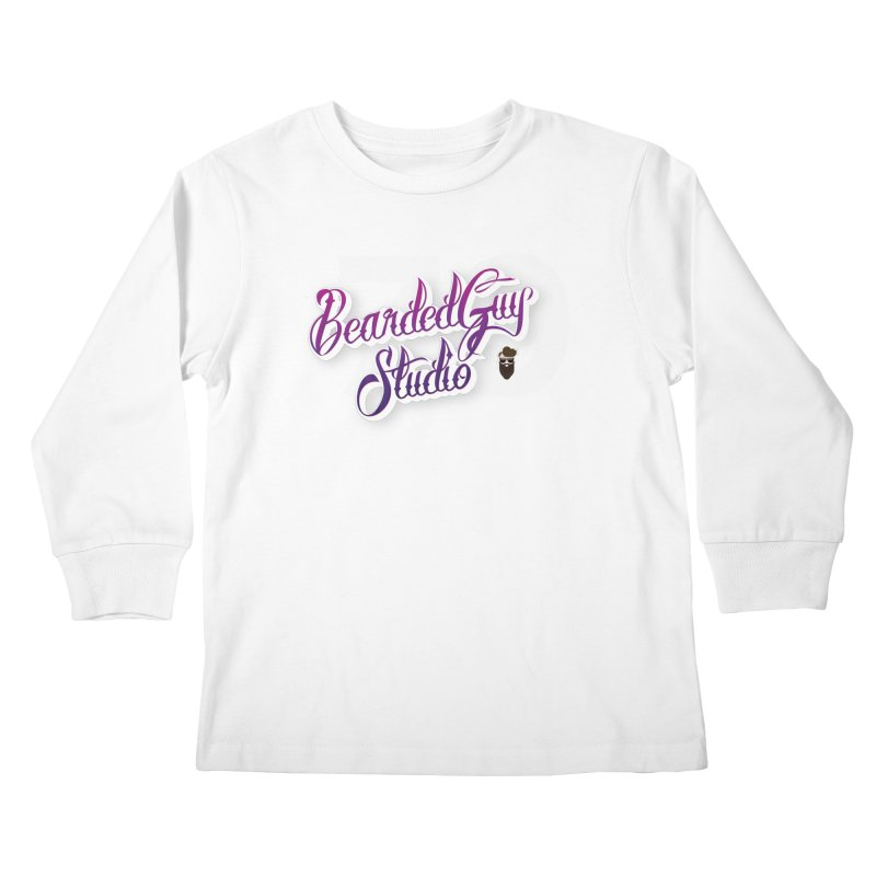 Bearded79 Kids Longsleeve T-Shirt by Beardedguy's Shop
