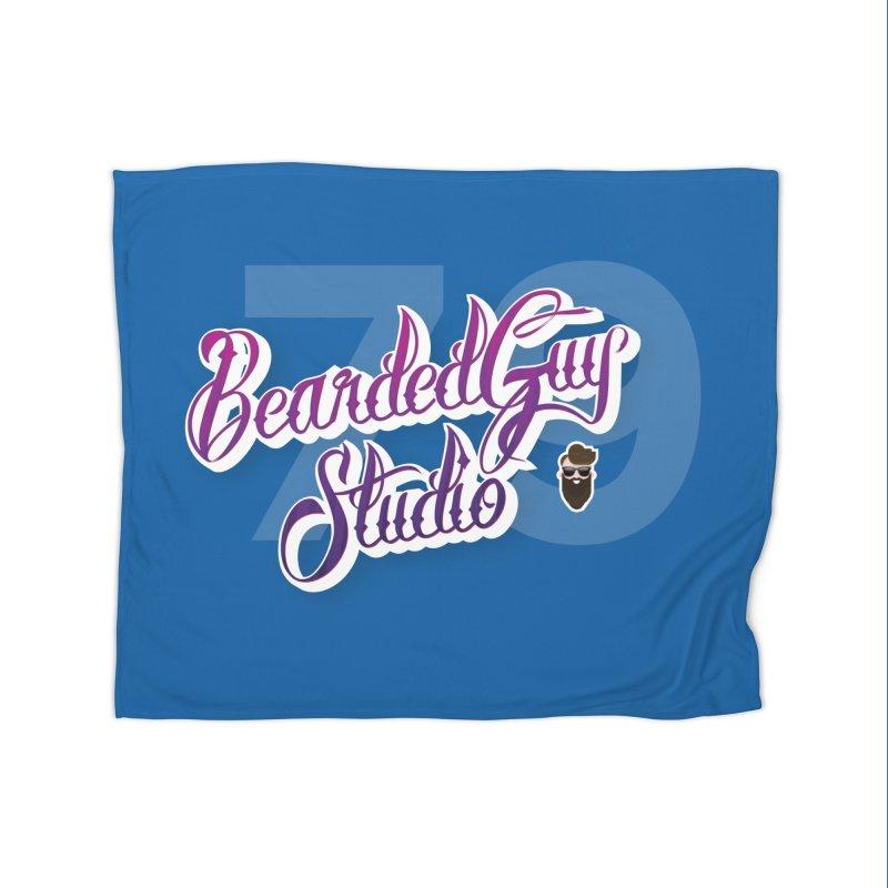 Bearded79 Home Fleece Blanket Blanket by Beardedguy's Shop