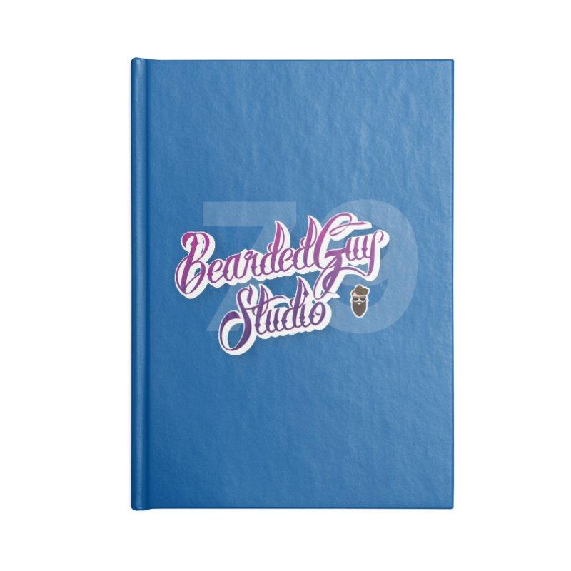 Bearded79 Accessories Blank Journal Notebook by Beardedguy's Shop