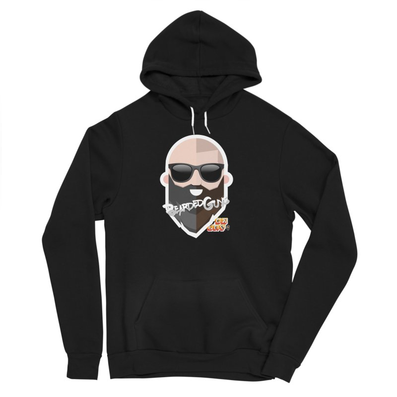 OZ&JAY - BEARDEDGUYS Men's Sponge Fleece Pullover Hoody by Beardedguy's Shop
