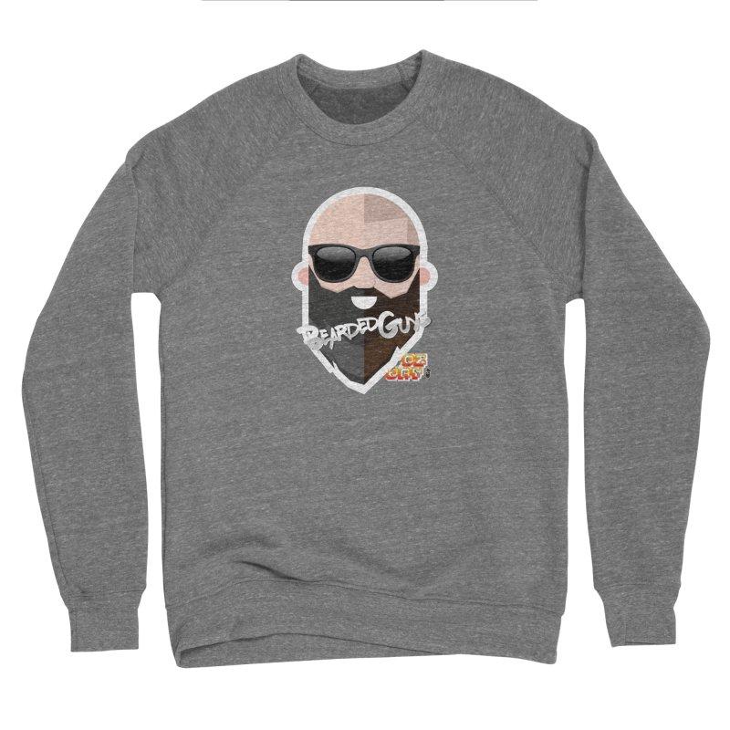 OZ&JAY - BEARDEDGUYS Men's Sponge Fleece Sweatshirt by Beardedguy's Shop