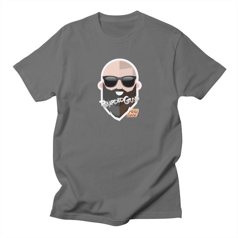 OZ&JAY - BEARDEDGUYS Men's T-Shirt by Beardedguy's Shop