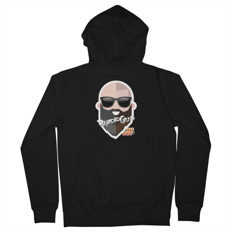 OZ&JAY - BEARDEDGUYS Men's French Terry Zip-Up Hoody by Beardedguy's Shop