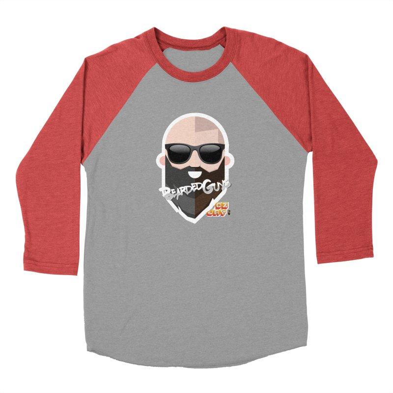 OZ&JAY - BEARDEDGUYS Women's Baseball Triblend Longsleeve T-Shirt by Beardedguy's Shop