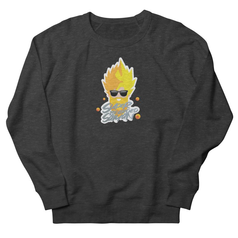 SUPER BEARDED SAIYAN Men's French Terry Sweatshirt by Beardedguy's Shop