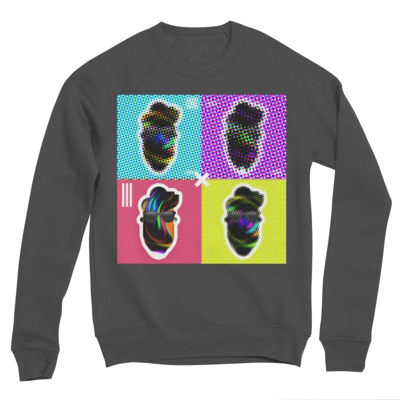 DOTTED BeardedGuy Men's Sponge Fleece Sweatshirt by Beardedguy's Shop