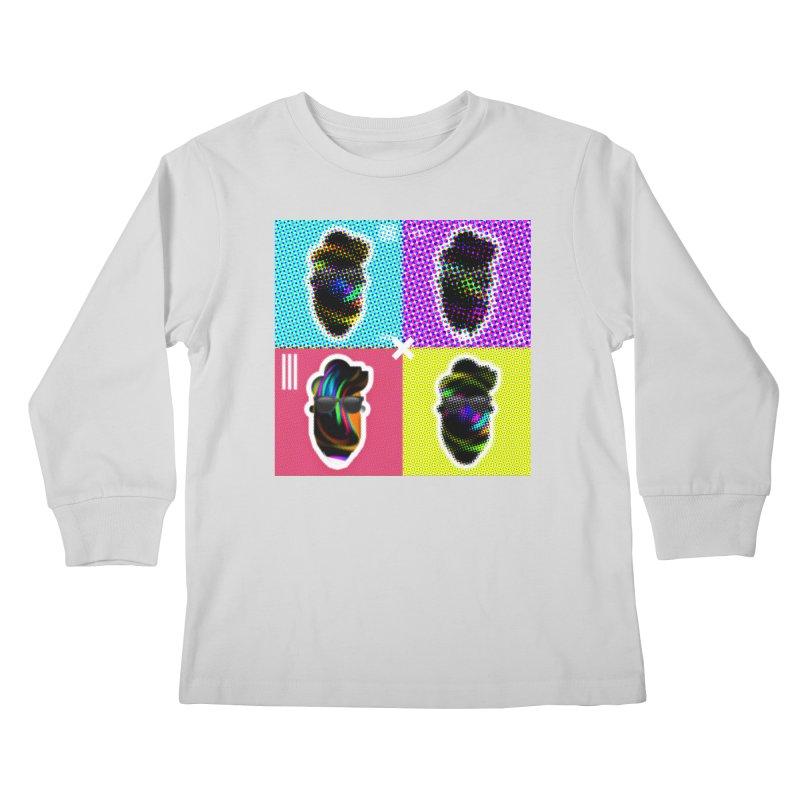 DOTTED BeardedGuy Kids Longsleeve T-Shirt by Beardedguy's Shop