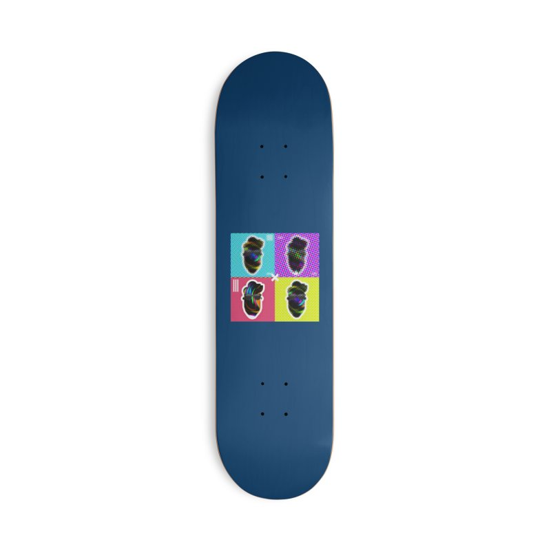 DOTTED BeardedGuy Accessories Deck Only Skateboard by Beardedguy's Shop