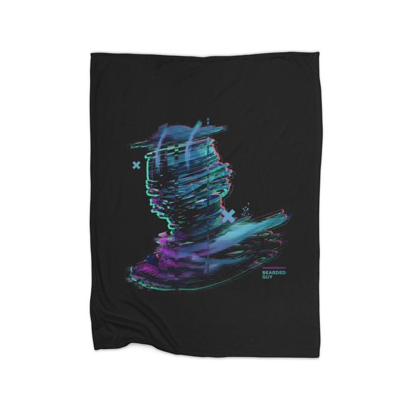 Ribbon Head Home Fleece Blanket Blanket by Beardedguy's Shop