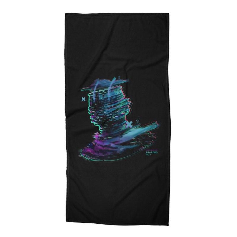 Ribbon Head Accessories Beach Towel by Beardedguy's Shop