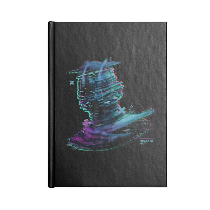 Ribbon Head Accessories Blank Journal Notebook by Beardedguy's Shop