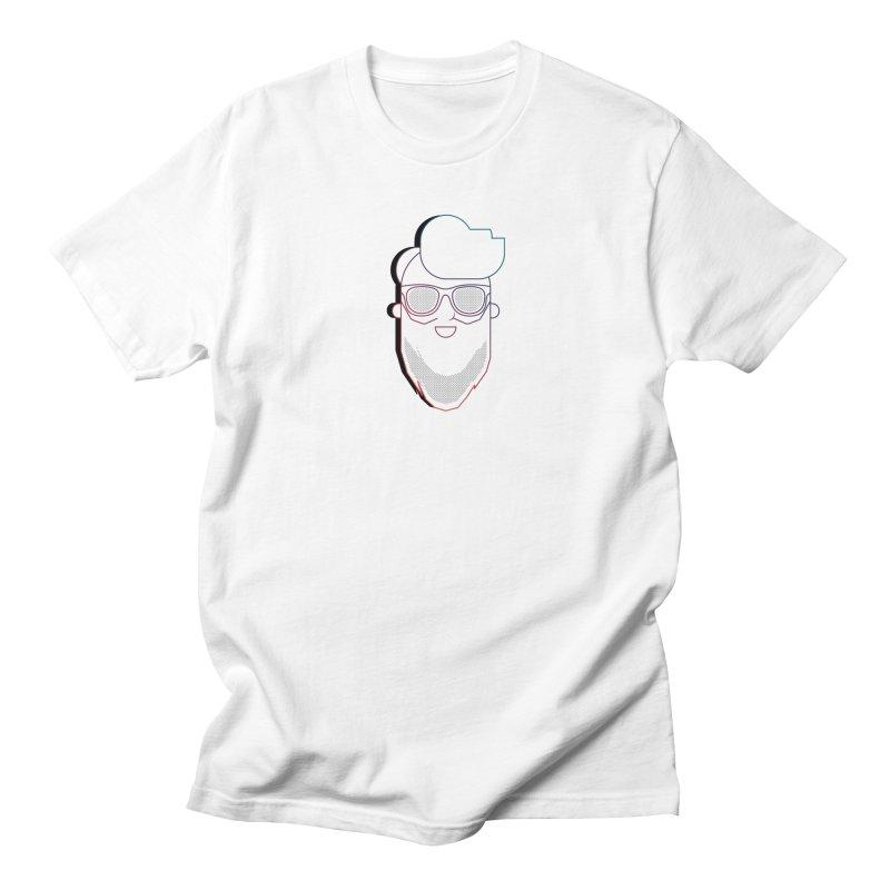 Beardedlines & dots Women's Regular Unisex T-Shirt by Beardedguy's Shop