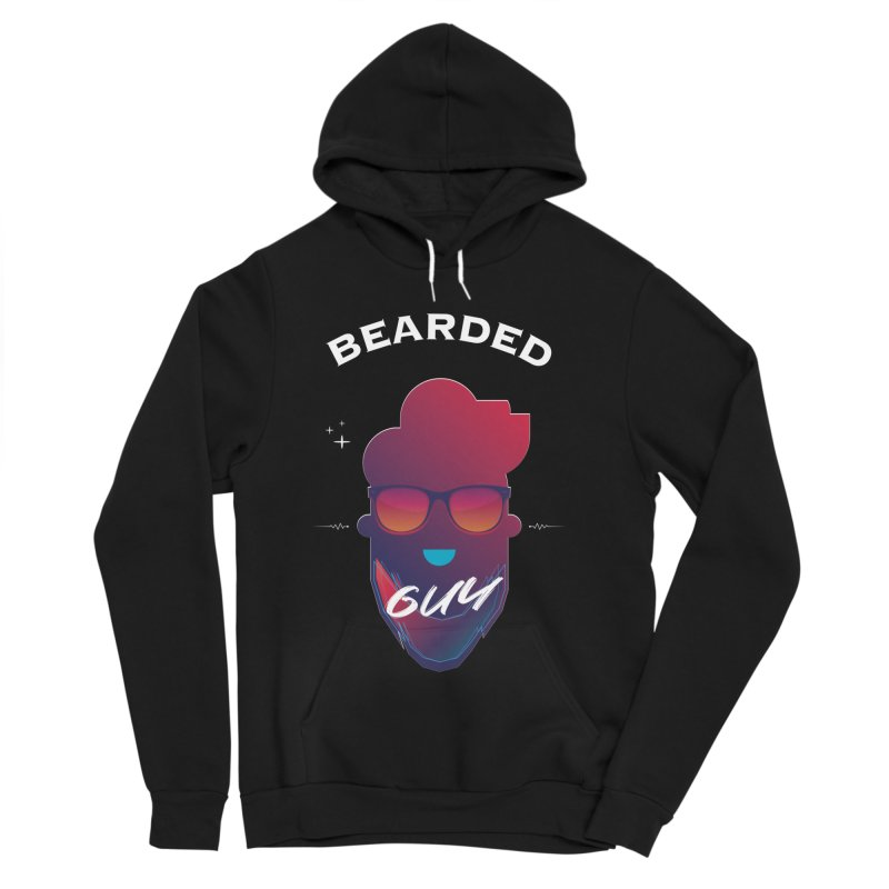 StrangerBeardedguy Women's Sponge Fleece Pullover Hoody by Beardedguy's Shop