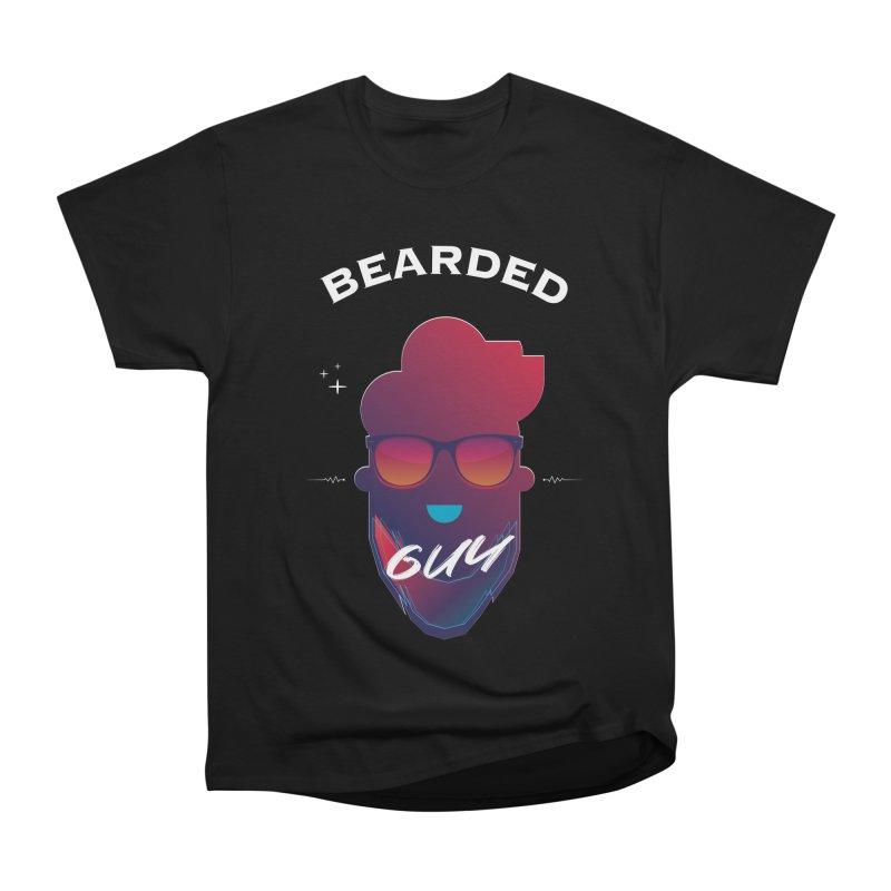 StrangerBeardedguy Women's Heavyweight Unisex T-Shirt by Beardedguy's Shop