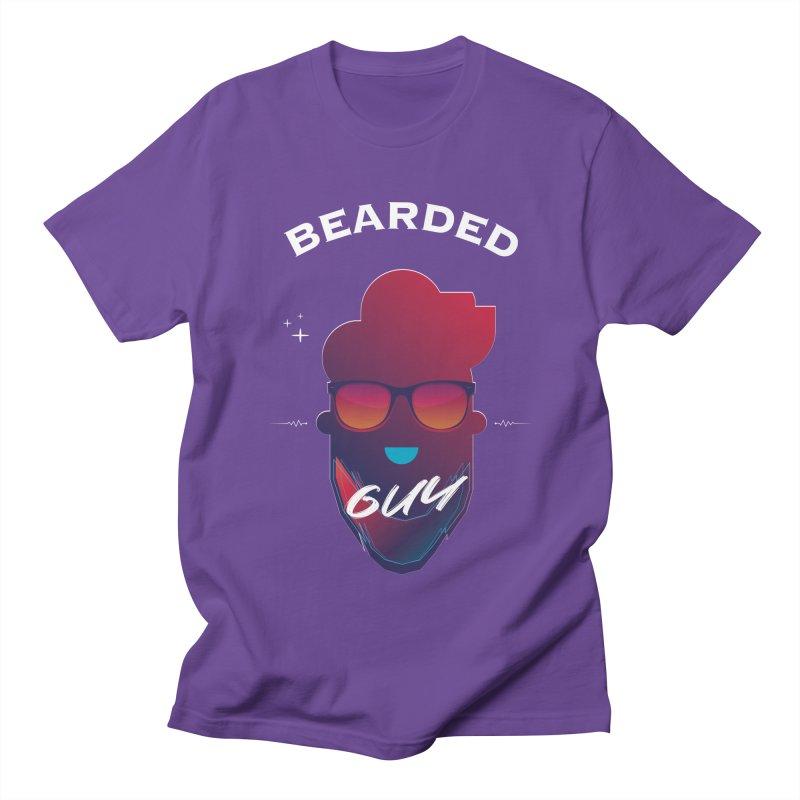 StrangerBeardedguy Women's Regular Unisex T-Shirt by Beardedguy's Shop