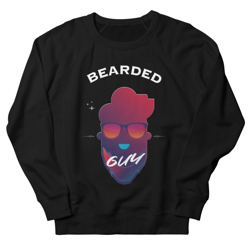 StrangerBeardedguy Men's French Terry Sweatshirt by Beardedguy's Shop