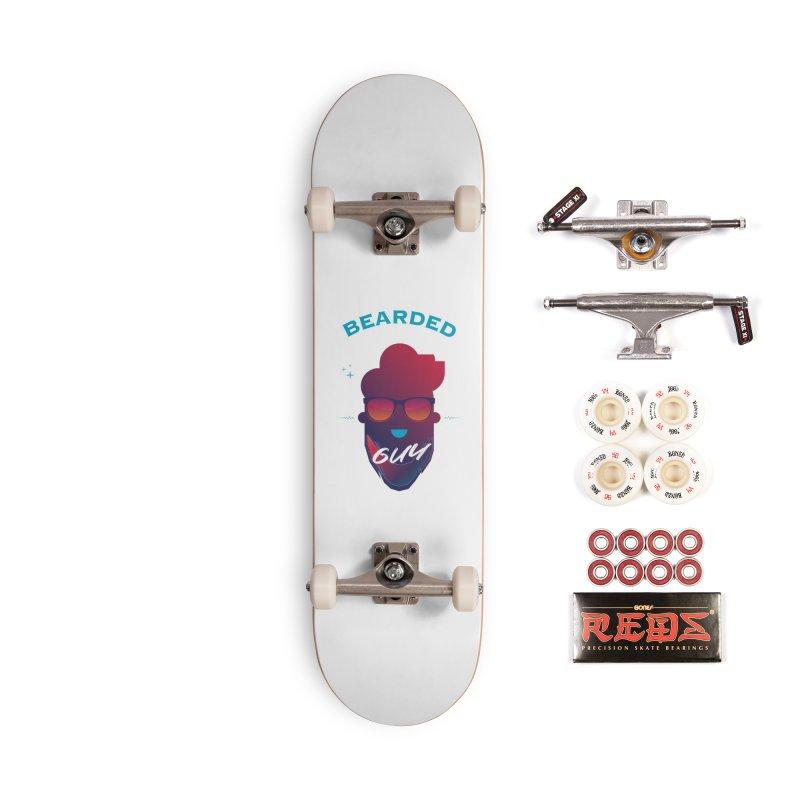StrangerBeardedguy Accessories Complete - Pro Skateboard by Beardedguy's Shop