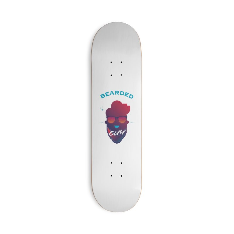 StrangerBeardedguy Accessories Deck Only Skateboard by Beardedguy's Shop
