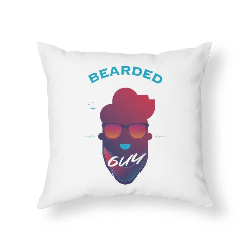 StrangerBeardedguy Home Throw Pillow by Beardedguy's Shop