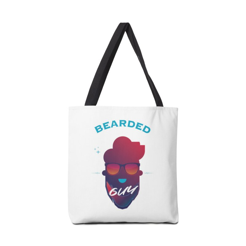 StrangerBeardedguy Accessories Tote Bag Bag by Beardedguy's Shop