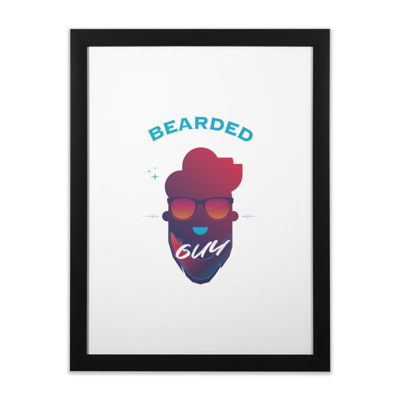 StrangerBeardedguy Home Framed Fine Art Print by Beardedguy's Shop