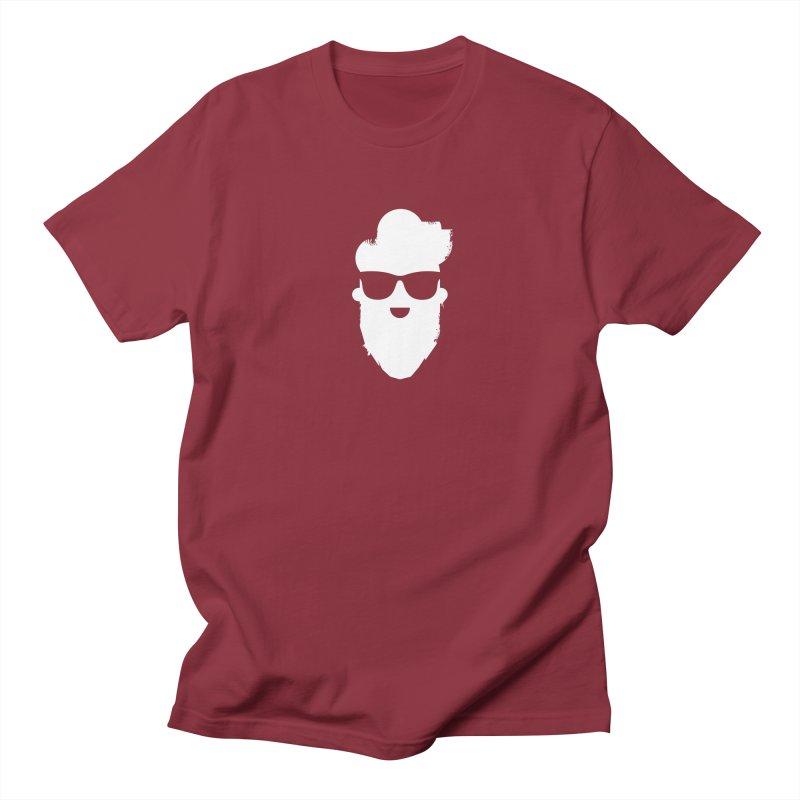 White Beard Guy Women's Regular Unisex T-Shirt by Beardedguy's Shop