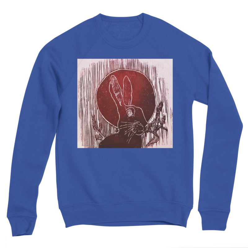 Hare Under the Blood Moon Women's Sweatshirt by Beautifully Grotesque Artist Shop