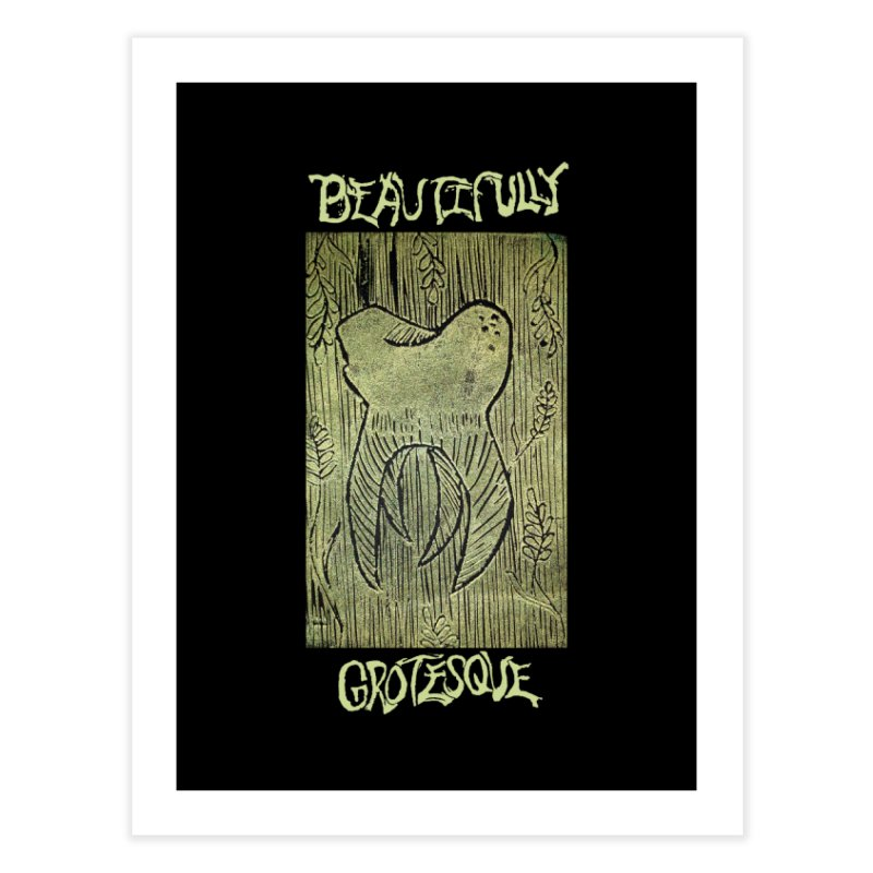 Branded Golden Wisdom Home Fine Art Print by Beautifully Grotesque Artist Shop