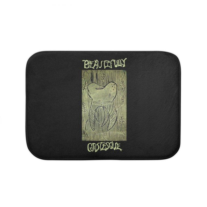 Branded Golden Wisdom Home Bath Mat by Beautifully Grotesque Artist Shop