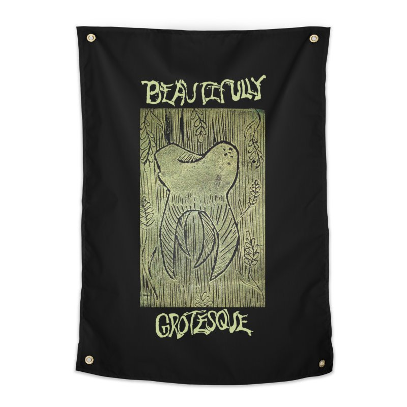 Branded Golden Wisdom Home Tapestry by Beautifully Grotesque Artist Shop