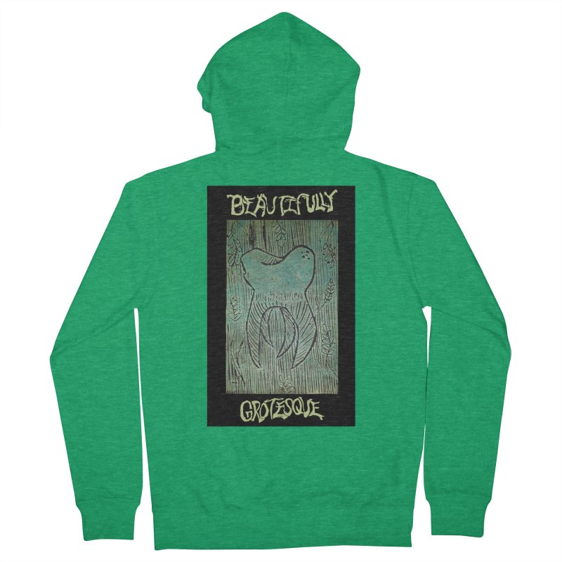 Branded Wisdom Women's Zip-Up Hoody by Beautifully Grotesque Artist Shop