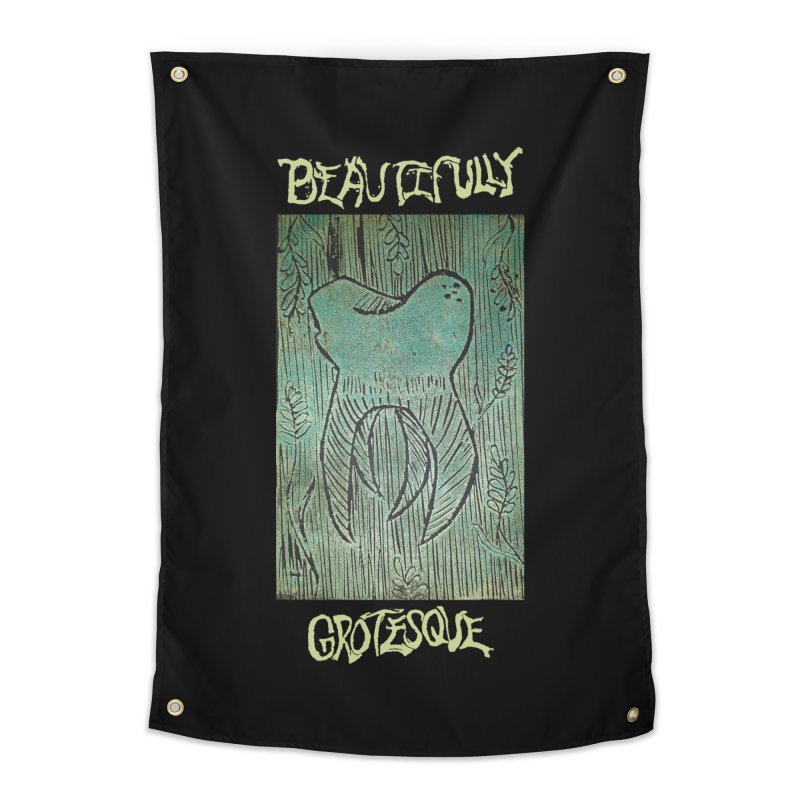 Branded Wisdom Home Tapestry by Beautifully Grotesque Artist Shop