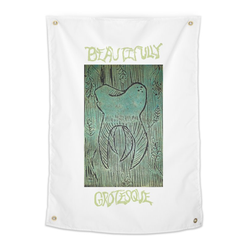 Wisdom Without Borders Home Tapestry by Beautifully Grotesque Artist Shop