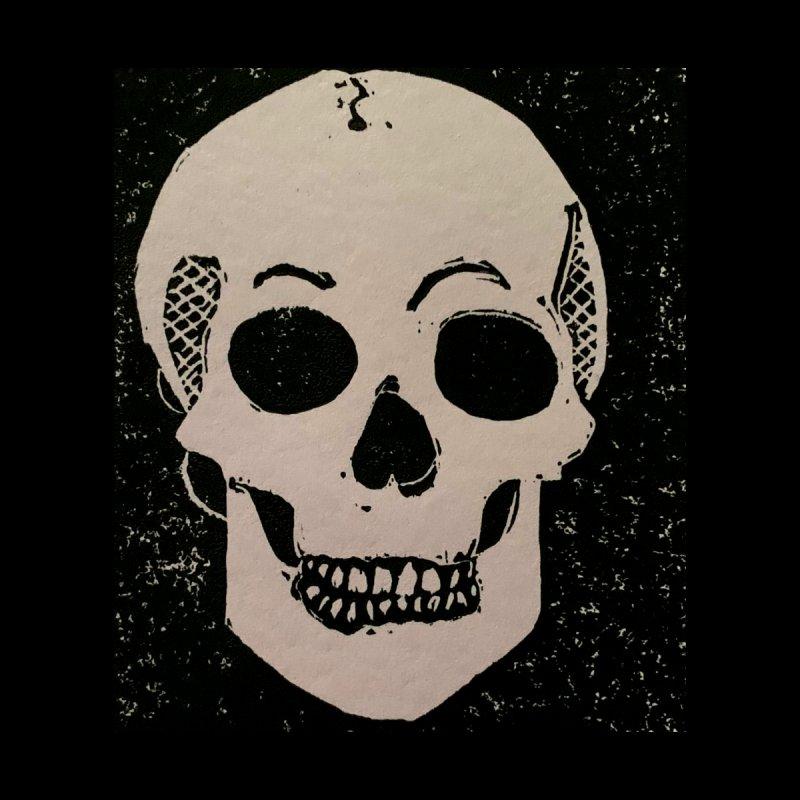 Static Skull Women's Sweatshirt by Beautifully Grotesque Artist Shop